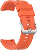 PokYr25eb para Amazfit GTR 47 mm Reemplazo de Correa de Silicona Ajustable para Reloj