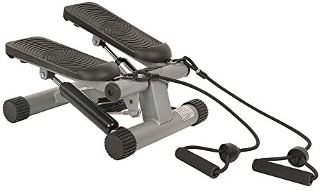 Sunny Health & Fitness Mini Stepper with Resistance Bands 3