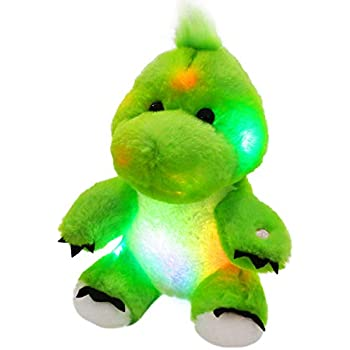 Amazon.com: Bstaofy LED Dinosaur Stuffed Animal Glow Green