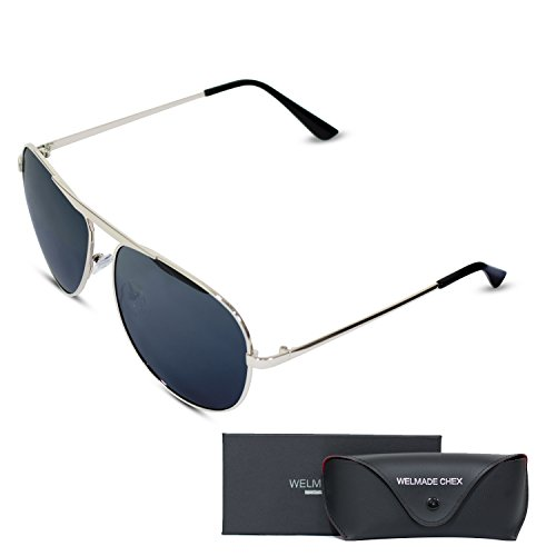 Premium Driving Aviator Sunglasses Mirrored product image