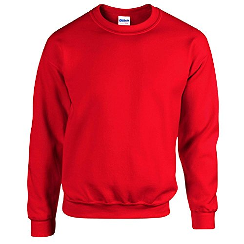 Gildan Men's Heavy Blend Crewneck Sweatshirt - XXX-Large - Red -