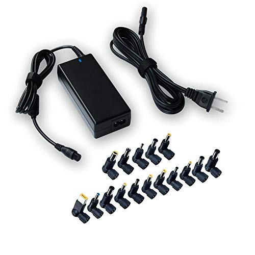 Belker 65w Universal Laptop Charger Ac Power Adapter for Hp Dell Acer Asus Lenovo IBM Toshiba Compaq Samsung Sony Fujitsu Gateway Notebook Ultrabook