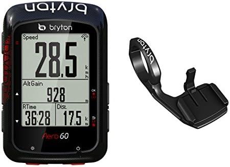 Bryton Aero 60E GPS para Ciclismo, Unisex Adulto, Negro, Talla ...