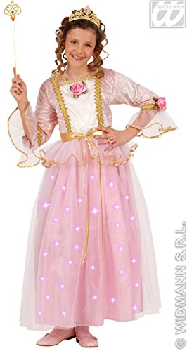PINK PRINCESS F/OPTIC 128cm (dress w/ light up skirt tiara)