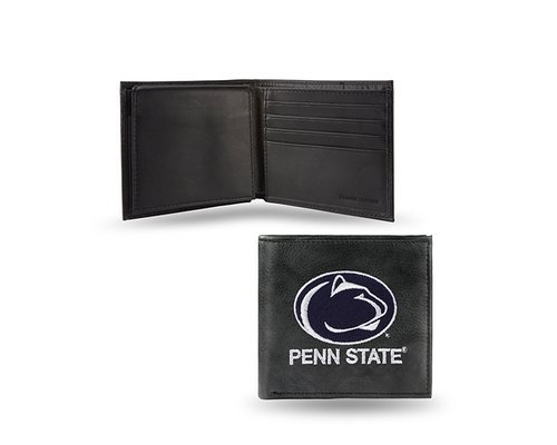 NCAA Penn State Nittany Lions Embroidered Leather Billfold Wallet