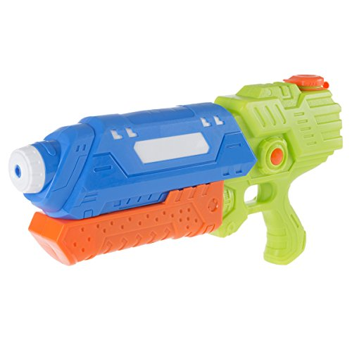 Hey  Play  80 Hm680553 Bo Water Gun Soaker With Air Pressure Pump  Lightweight Squirt Gun Toy For Beach  Pool And Outdoor Games For Kids And Adults By  Blue Orange