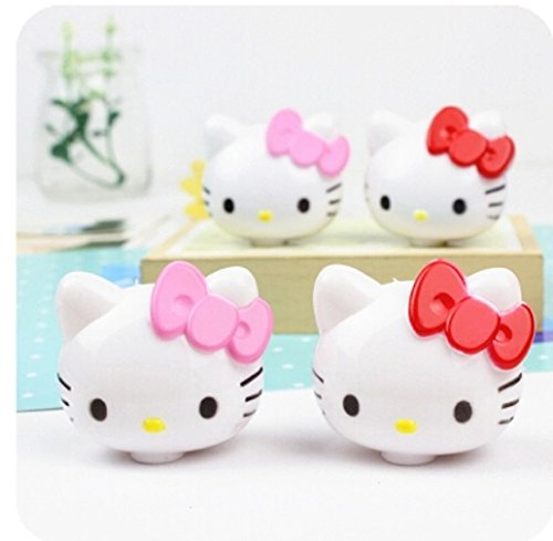 Hello Kitty Inspired Pencil Sharpener Set of 4