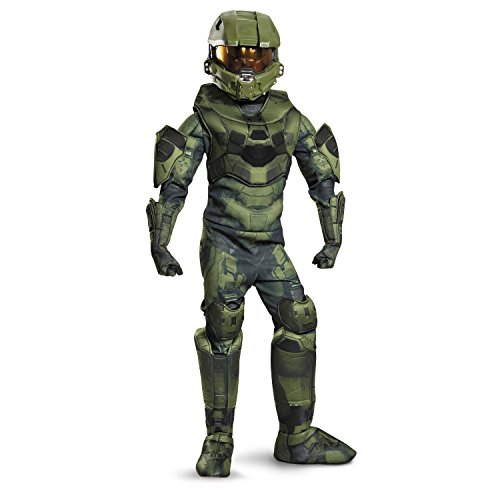[Disguise Master Chief Prestige Costume, X-Large (14-16)] (Full Halo Costumes)