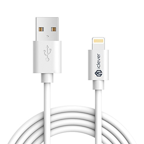 iClever iPhone Charger Cable, 6ft Premium 8-Pin Lightning t
