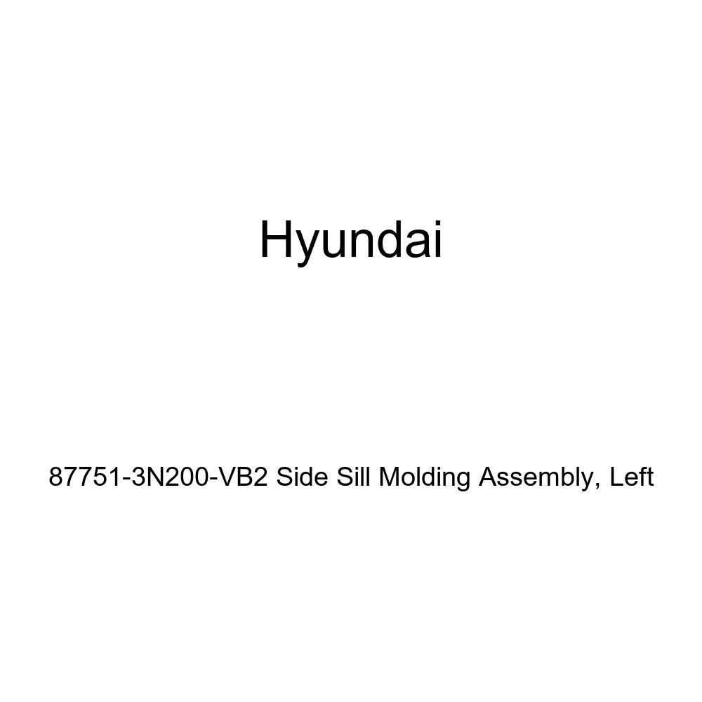 Genuine Hyundai 87751-3N200-VB2 Side Sill Molding Assembly Left