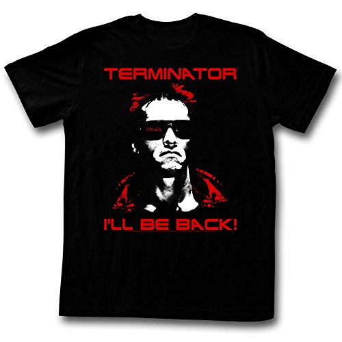 Terminator Same Ol' T I'll Be Back Men's T-Shirt - Black (Small)