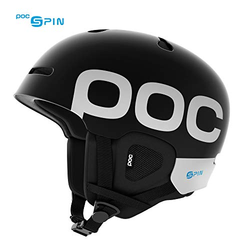 - POC Auric Cut Backcountry Spin, Ski and Snowboarding Helmet, Uranium Black, M/LG