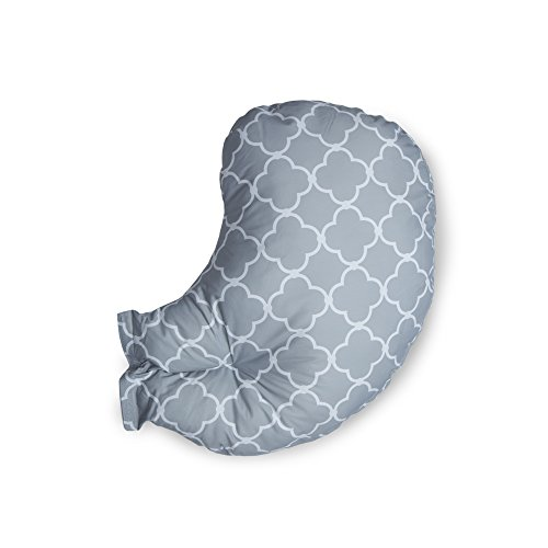 Boppy Custom Fit Total Body Pillow, Grey