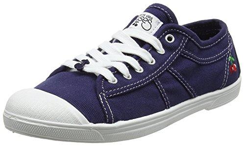 Des Le Bleu indigo Temps Cerises Basic 02 femme Baskets FTn7qgvT5