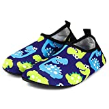 Bridawn Kids Water Shoes Toddler Swim Shoes Quick Dry Non-Slip Barefoot Aqua Socks for Beach Pool: more info