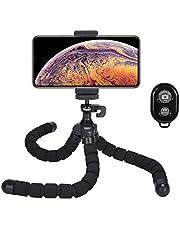 Deyard Supporto registrabile del supporto del treppiedi del Octopus flessibile di con il telecomando di Bluetooth per tutta la fotocamera e la fotocamera digitale GoPro Smartphone