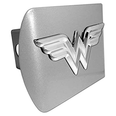 Elektroplate Wonder Woman 3D Matte All Metal Hitch Cover: Automotive