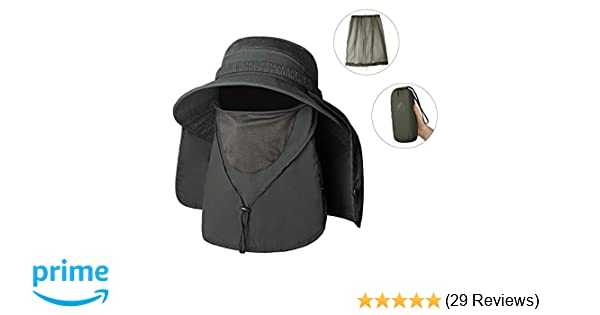 f399c5a71e55a ... UV Protection Sun Hat with Mosquito Net