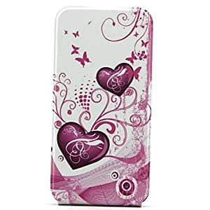 LCJ Open Up and Down Love Pattern Phone Protective Shell Full Body Case for iPhone 6 ??Plus
