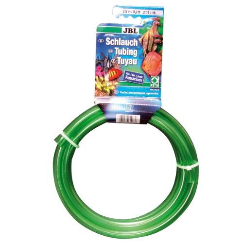 JBL Wasserschlauch 2,5 m Länge, 12/16 mm Durchmesser, Aquaschlauch grün, 61083