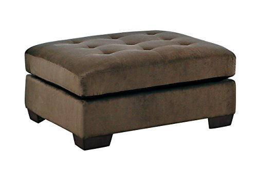 (Homelegance Savarin Tufted Accent Coffee Table Ottoman Fabric Cover, Dark)