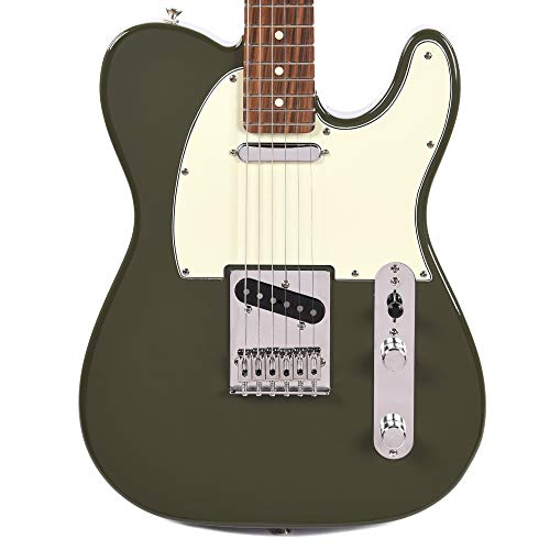 - Fender Player Telecaster PF Olive w/3-Ply Mint Pickguard (CME Exclusive)