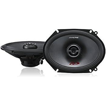 "Alpine SPR-68 6x8"" Coaxial 2-Way Type-R Speaker Set"