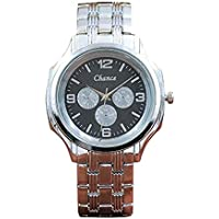 Womens Watches Windoson Women's Ladies Teen Girls Fashion Dress Wrist Quartz Watch with Stainless Steel Band Casual Business Analog Quartz Watches Classic Wristwatch (Black)
