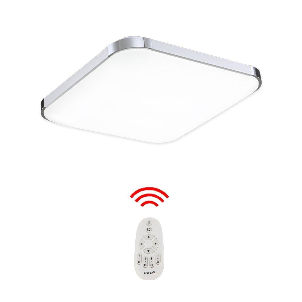 Hengda 24W LED Deckenleuchte kaltWeiß(6000K-6500K) Kinderzimmer Wand-Deckenleuchte IP44 Badezimmer geeignet Markantes Design [Energieklasse A++] B-1-HG3546