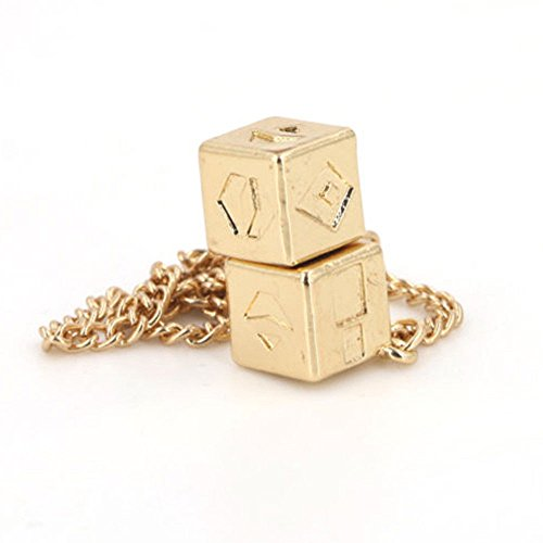 Clearance! Hot Sale! ❤ Dice Han Solo Lucky Story Cosplay Prop Fashionable Cube Chain Attractive Under 5 Dollars Valentine's Day Gifts for Girlfriend