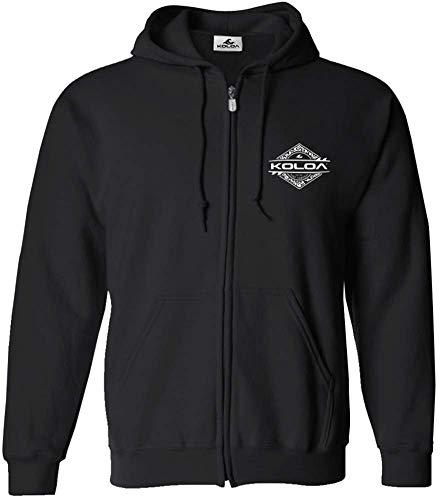 Koloa Surf(tm) Diamond Thruster Logo Full Zipper Hoodie-Hooded -