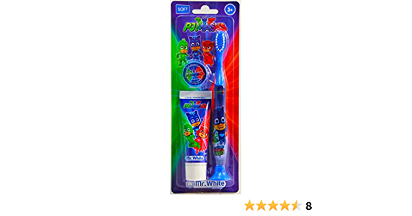 MR WHITE - Travel Kit PJ Mask: Kit de viaje con cepillo de ...