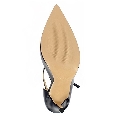 Evita Shoes Alina Damen Pumps Glattleder Dunkelblau