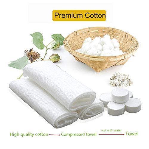 100 Pcs Compressed Towel Portable Mini Cotton Towel