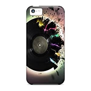 linJUN FENGNew Shockproof Protection Case Cover For iphone 5/5s/ Explosive Vinyl Case Cover