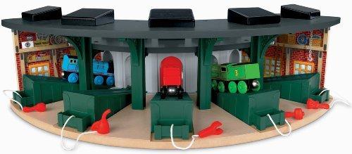 Amazon.com: Thomas & Friends Fisher-Price Wooden Railway, Deluxe ...