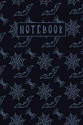 Halloween Icon Text (NOTEBOOK: Halloween Colorful Unique Texture Cover with Black Text, College Rule Line, Each Page Have Day, Date, and Weather Track Icon. 110 Pages with 6 x 9)