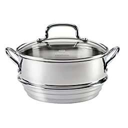Calphalon Stainless Steel Universal Steamer Insert with Lid