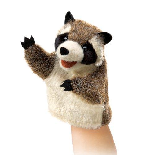 Folkmanis-Little-Raccoon-Hand-Puppet