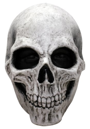 White Skull Mask - ST -