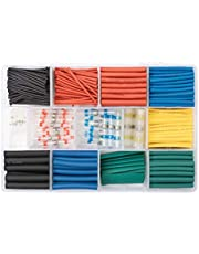 530 PCS Solder Seal Wire Connectors with Heat Shrink Tube,Wire Splice Connector Tube,Insulating Sleeve for Wire Connector