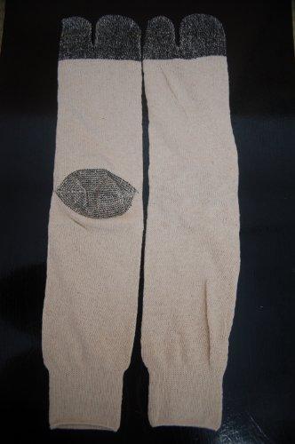 Tabi Socks Men's Japanese Style, White, Size 10.5