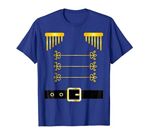 Nutcracker Costume Uniform t-shirt Matching Toy Soldier