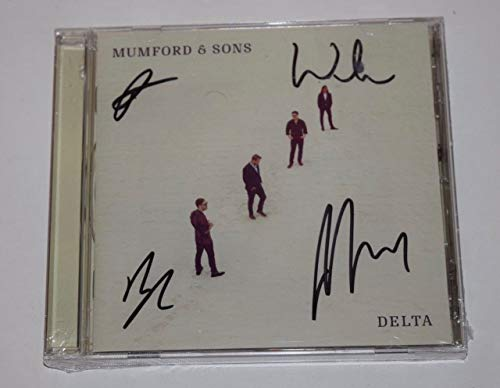 Mumford & Sons Signed Autograph DELTA CD Booklet & New CD Marcus Mumford +3 COA