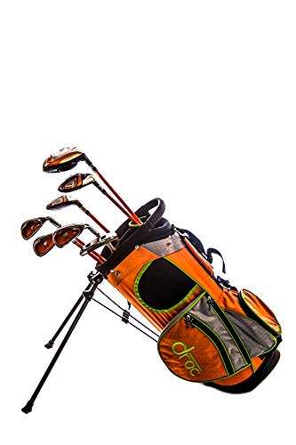 Droc - Mica Series 7 Pcs Golf Club Set + Golf Bag Ages 3 - 6 Right Handed by Sephlin