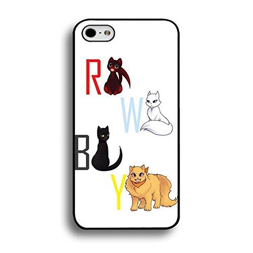 Iphone 6 Plus/6S Plus 5.5 Zoll Phone hülle Handyhülle RWBY Symbol Animal Weiß Cute Cover,Telefonkasten SchutzHülle