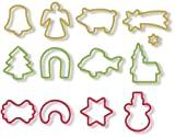 Tescoma Christmas cookie cutters DELÍCIA, 13 pcs