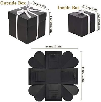 VEESUN Caja de Regalo Creative Explosion Box, DIY Álbum de Fotos ...