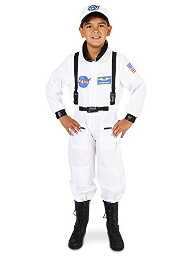 Dream Weavers Costumers - White Astronaut Child Costume - Large (12-14)]()