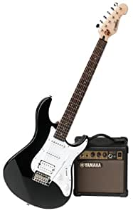 yamaha eg 112pf electric guitar kit amplifier gig bag musical instruments. Black Bedroom Furniture Sets. Home Design Ideas